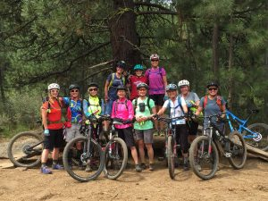 Intermediate MTB Phil's Trail to bench