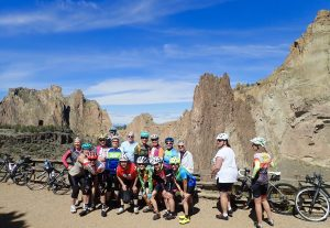 Adv Beginner road ride to Smith Rock from Redmond