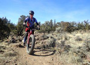 Intermediate mountain bike ride at Maston